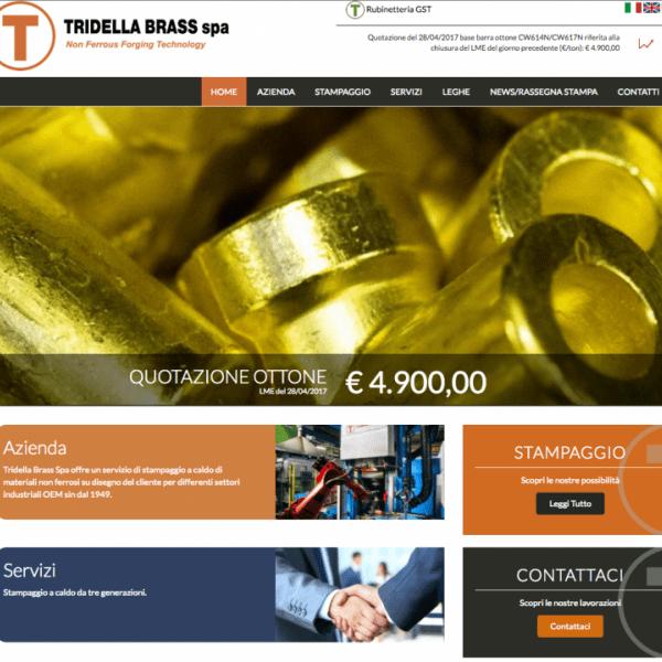 nuovo sito tridella